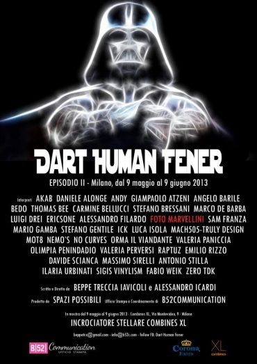 "Collettive Exhibit ""Dart Human Fader"""