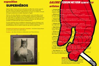"""Superheroes"" Art Exhibition"