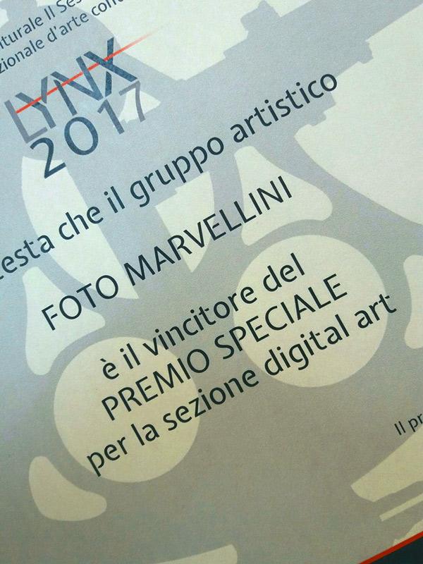 Premio LYNX winner