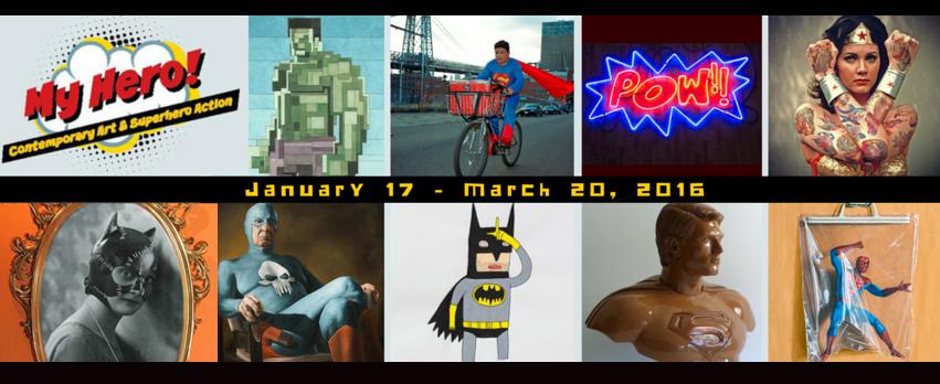 My Hero! Contemporary Art and Superhero Action