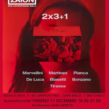 """""""3×2+1"""" da Zaion Arte Contemporanea"""