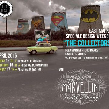 Marvellini ReadyToHang – Milano Design Week 2016
