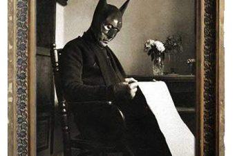 Batman che legge