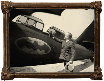 Selfie Batplane