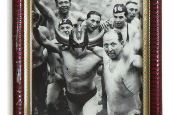 Goldrake natante