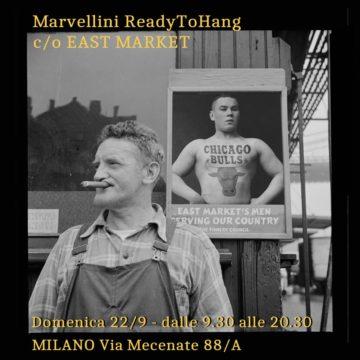 Marvllini ReadyToHang @ East Market Milano